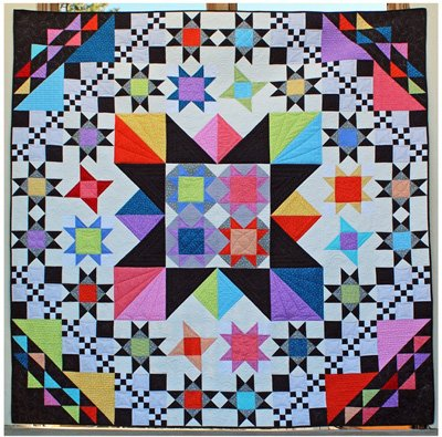 Starry Eyed Quilt Pattern by Charisma Horton