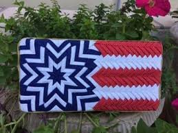Stars and Stripes Wallhanging Pattern by No-Sew Ornaments