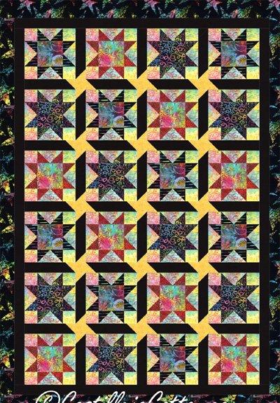 Starstruck Quilt EPattern by Castilleja Cotton