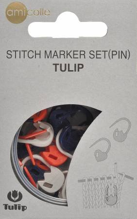 Tulip Stitch Pin Markers
