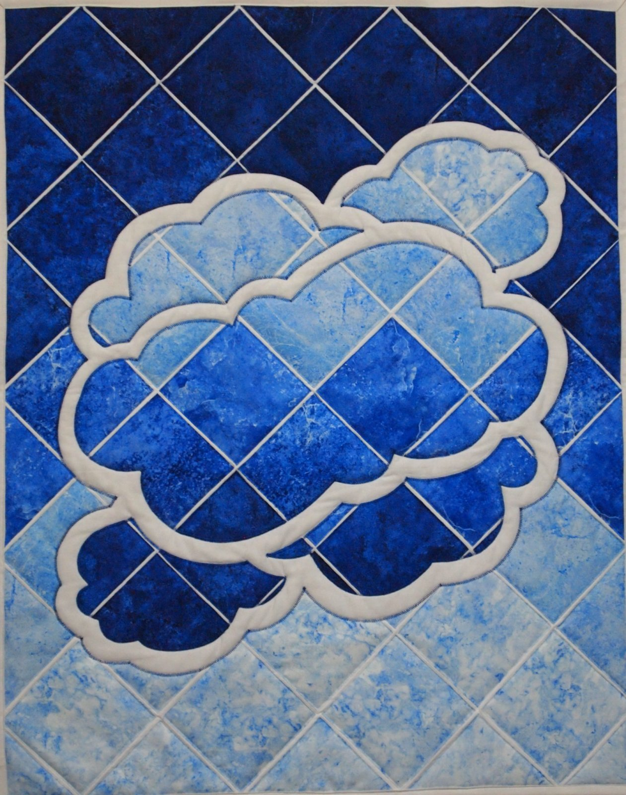 Storm Clouds Quilt Pattern by Another by Anita