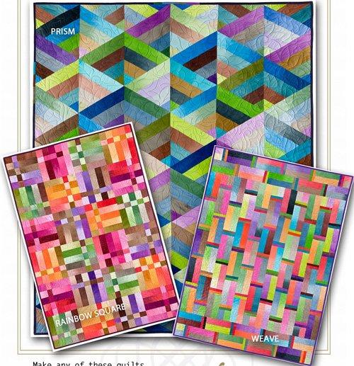Strip it Three Way Series 1 Quilt Patterns by Nancy Rink Designs