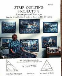Strip Quilting Projects Book 8 by Kaye Wood