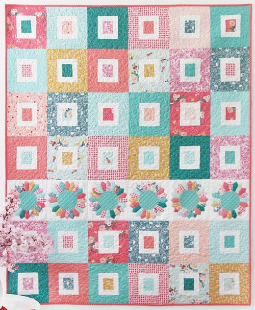 Sugar Dish Quilt Pattern in 3 Sizes by Cluck Cluck Sew