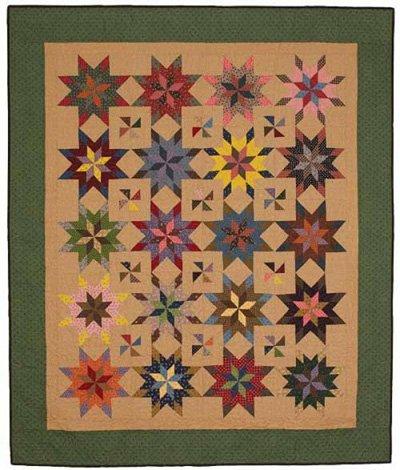 Summer Fireworks Quilt Pattern by C McCourt Quilt Designs