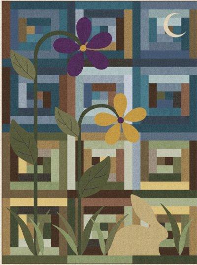 Summer Nights Quilt Pattern by Prairie Grove Peddler