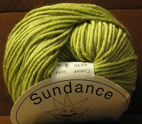 Sundance Yarn by Classic Elite 6235 Celery Green