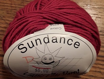 Sundance Yarn by Classic Elite 6258 Red
