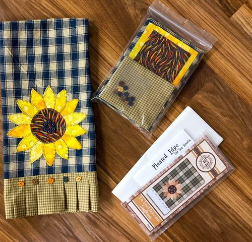 Sunflower Applique Kit at KayeWood.com