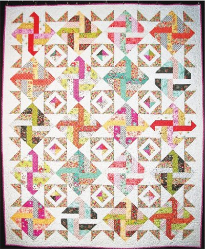 Surprise Party Quilt Pattern by Cut Loose Press