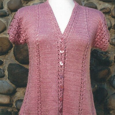 Sweet Home Knitting Sweater Pattern by Oat Couture