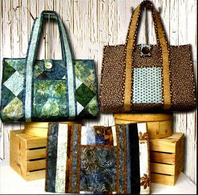 Sweet Retreat Weekend Bag Pattern by Whistlepig Creek