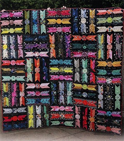 Sweeties Quilt, Throw and Tablerunner Pattern by Eye Candy Quilts