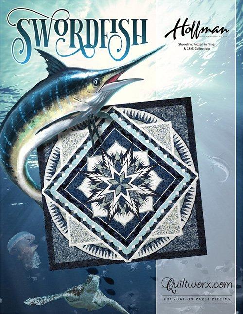 Swordfish Quilt Pattern by Judy Neimeyer
