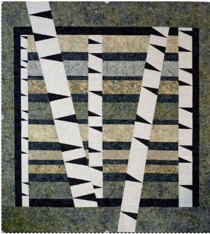 Winter Woods Quilt Pattern by Tamarinis