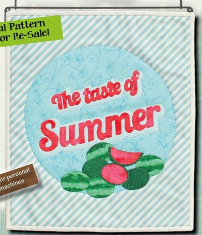 Taste of Summer Wallhanging Epattern by Patchabilites