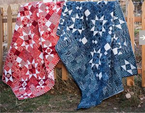 Taylored Stars Quilt Pattern by Antler Designs