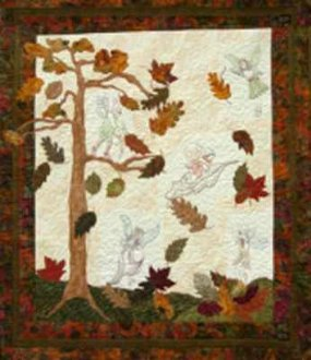 Autumn Magic Quilt Pattern by The Freckles Collection