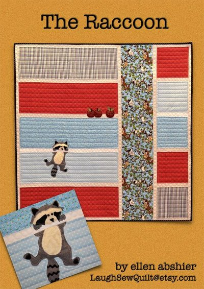 The Raccoon Quilt Pattern by Laugh Sew Quilt