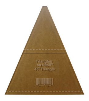 Tri-Angles 45 Degree Ruler by Triangles on a Roll
