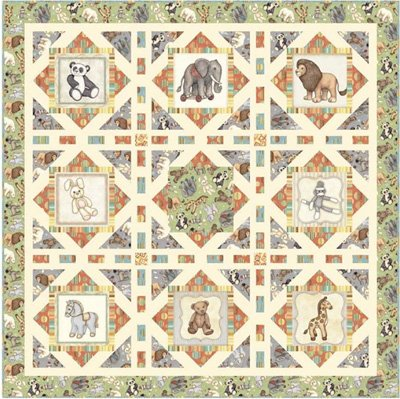 Toy Boxes Quilt Pattern by Pine Tree Country Quilts