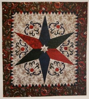 Wilden Star Quilt Pattern by Traditional Primitives