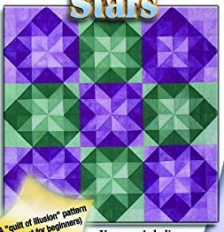 Transparent Stars Quilt Pattern by Karen Combs