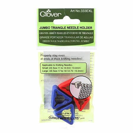 Clover Triangle Needle Holder