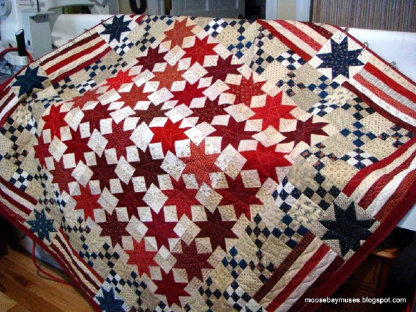 Yes We Can America Quilt Pattern by Timeless Traditions