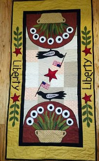 Liberty Table Runner Pattern by Timeless Traditions