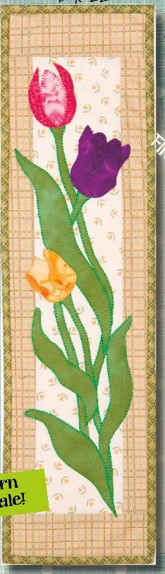 Tulips Wallhanging Epattern by Patchabilities