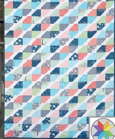 Twist Tie Quilt Pattern in 5 Sizes by A Bright Corner