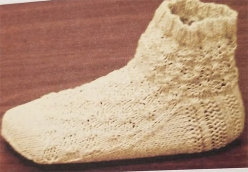 Twisted Check Short Socks Knitting Pattern by Ewe & I Originals