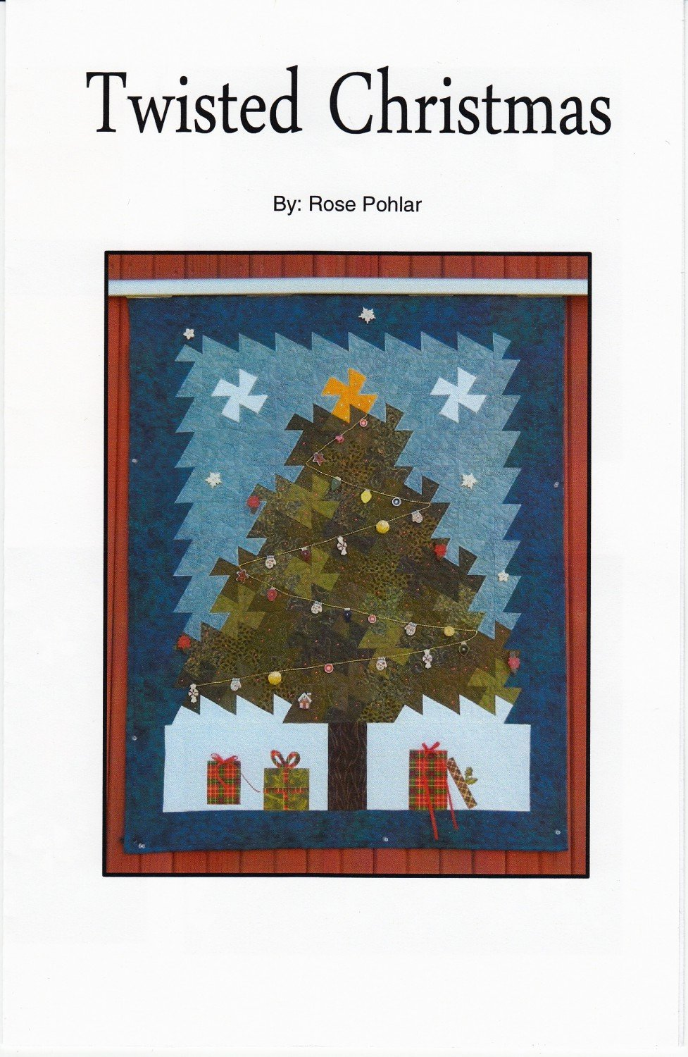 Twisted Christmas Wallhanging Pattern by Pohlar Fabrics