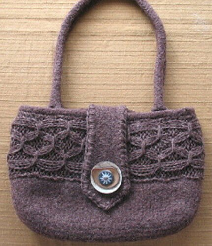 Universal Options Felted Bag Pattern by O/C Knitiot Designs