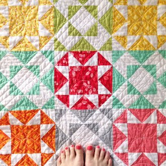Endless Summer Quilt Pattern by V and Co.