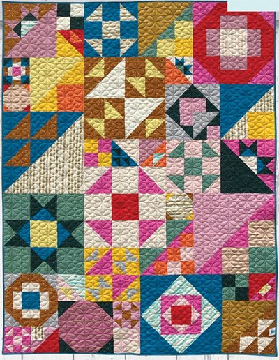 Veiled Suggestion Quilt Pattern by Angela Pingel Designs