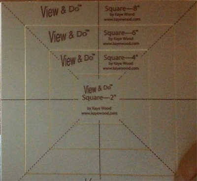 View & Do Square Shapes 4 Sizes by Kaye Wood
