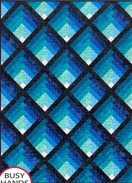 Waterfall Quilt Pattern by Busy Hands Quilts