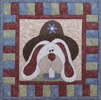 April Bunny Little Quilts Pattern by The Wooden Bear