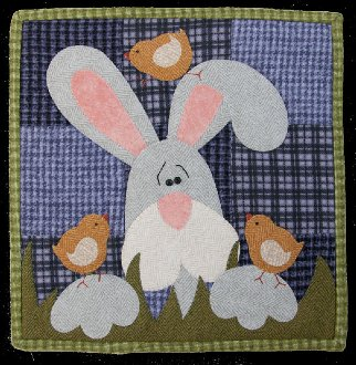 April Chick Magnet Applique Pattern by The Wooden Bear
