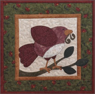 It's Spring Again March Applique Pattern by The Wooden Bear