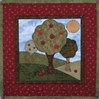 September Apple Harvest Pattern by The Wooden Bear