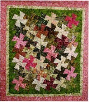 Weekend Twister Quilt Pattern by Amy's Wagon Wheel Creations