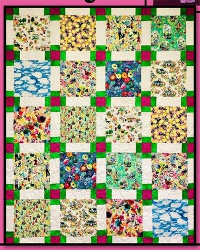 Wellington Quilt Pattern by Villa Rosa Designs