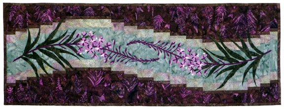 Wildfire Weed Wallhanging Pattern by Wildfire Designs