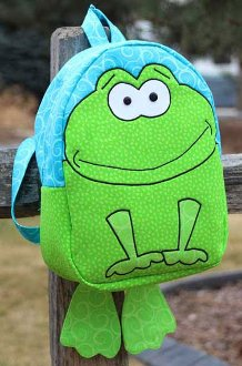 Boutique Backpacks 1 - From the Swamp Backpack Patterns by Whistlepig Creek Productions