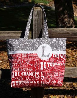Bring Your Own Bag Tote Pattern by Whistlepig Creek Productions