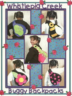 Buggy Backpacks Booklet by Whistlepig Creek Productions