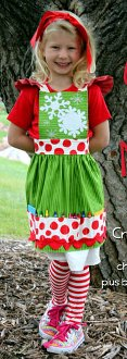 Color Me Mine Apron Pattern by Whistlepig Creek Productions